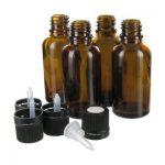 Стъклено шишенце с дозатор