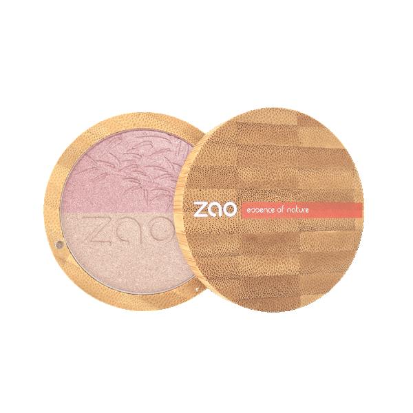 Дуо хайлайтър шампанско и злато ZAO Organic