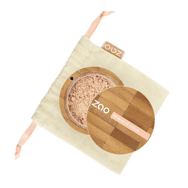 Минерална коприна прахообразен фон дьо тен - (7 цвята)