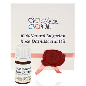 Натурално етерично масло от роза дамасцена Maira Oils