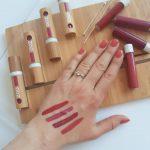 Lip ink матово течно червило ZAO Organic (4 цвята) 3