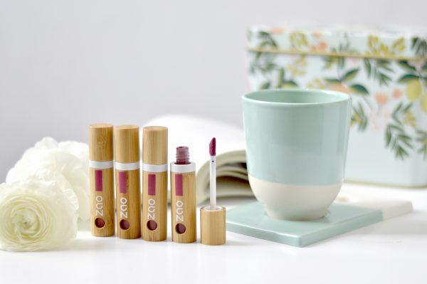 Lip ink матово течно червило ZAO Organic (4 цвята)