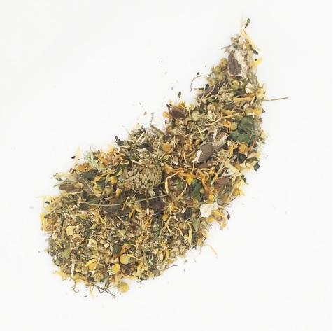 Glowing Body - хармонизиращ чай - OMAYA Herbs