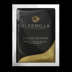 Антиоксидантна маска против бръчкиза лице - ALKEMILLA 20мл