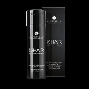 Ленен шампоан за чуплива и къдрава коса - K-Hair