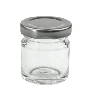 Стъклено бурканче за козметика - 40 мл.