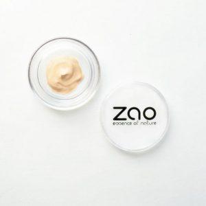 сампъл- копринен фон дьо тен ZAO Organic