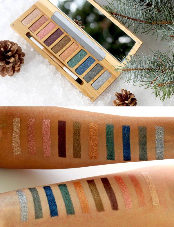 ZAO палитра сенки 10 цвята - CLIN D'ŒIL n°2