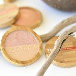 Дуо хайлайтър шампанско и злато ZAO Organic 3