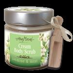 Крем ексфолиант за тяло Jasmine & Mint - Flora's Secret