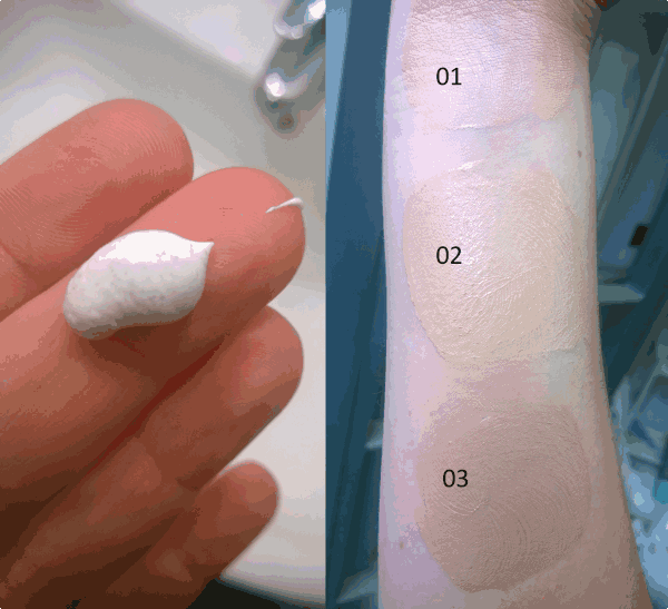 Alkemilla - Адаптивен крем - ефект втора кожа (3 цвята)