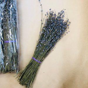 Букет от сушена лавандула в крафт опаковка | китка за декорация,чай и козметика