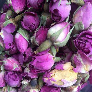 Био изсушени розови пъпки Damascena - насипно