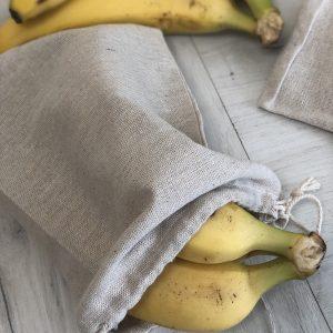 Еко торбички от лен,юта и памук | reusable, zero waste