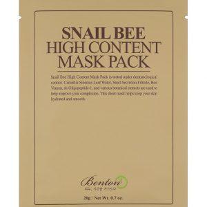 Маска-от-плат-с-концентрирано-съдържание-на-екстракт-от-охлюви-и-пчелна-отрова