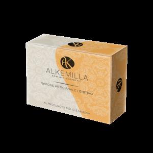 Био успокояващ домашен сапун с липа и мимоза - Alkemilla