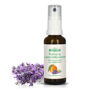 Спрей ароматизатор с натурални етерични масла - Лавандула и Мандарина - Bergland
