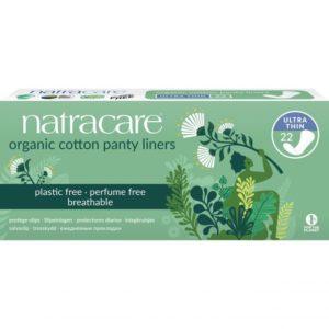 Еко ежедневни превръзки с био памук Ултра тънки 22 бр - Natracare