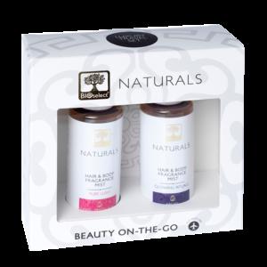 Комплект парфюм мист за коса и тяло Pure Lush + Glowing Rituals
