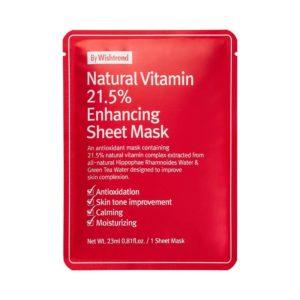 Шийт витаминна маска NATURAL VITAMIN 21.5 ENHANCING - Wishtrend