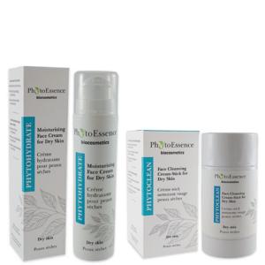 Сет крем + стик за суха кожа - PhytoEssenceBio