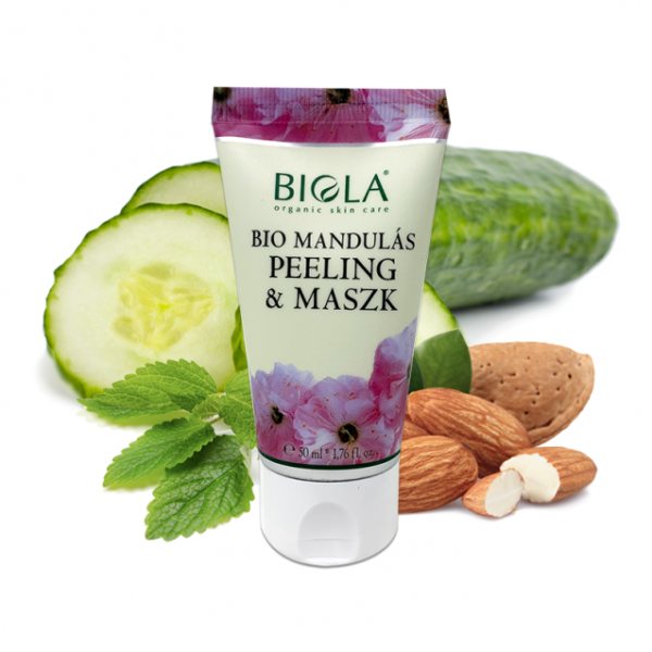 Органичен бадемов пилинг и маска