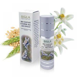 Органичен балсам за грижа за лицето с Еделвайс - Biola