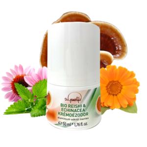 Органичен крем-дезодорант с гъби Рейши и Ехинацея - Dr.Ganolive