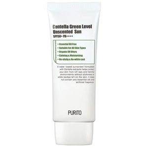 Слънцезащитен крем PURITO CENTELLA GREEN 50SPF PA++++ 60 ML - без парфюм