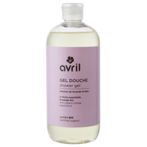 Хидратиращ душ гел с алое вера и инфузия от лавандула и портокал - Avril - 500ml
