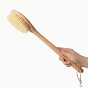 Четка за сухо четкане с дълга дръжка - Naturae Donum
