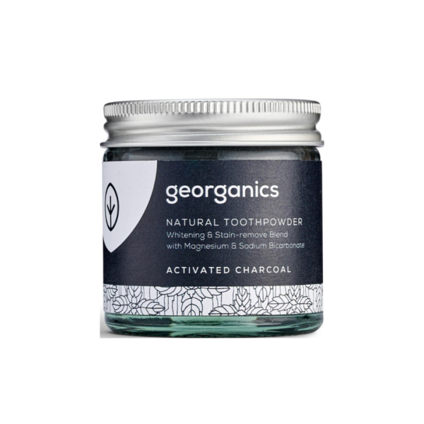 Натурална паста за зъби - активен въглен - Georganics - 60ml
