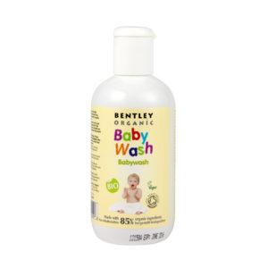 Био душ гелът и шампоан за бебета .