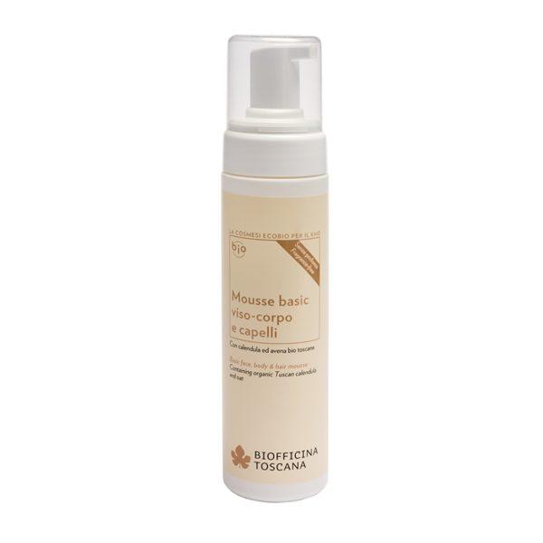 Почистващ мус за лице тяло и коса - Biofficina Toscana