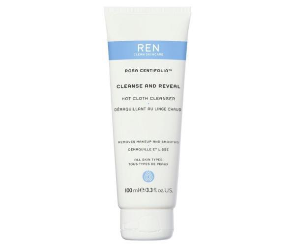 Rosa Centifolia Hot Cloth Cleanser - Почистващ гел за лице -REN