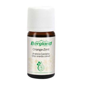 Бленд от етерични масла за дифузер - Портокал и канела - Bergland