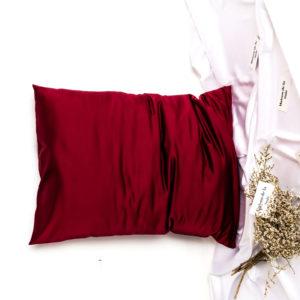 коприна-веган-червена