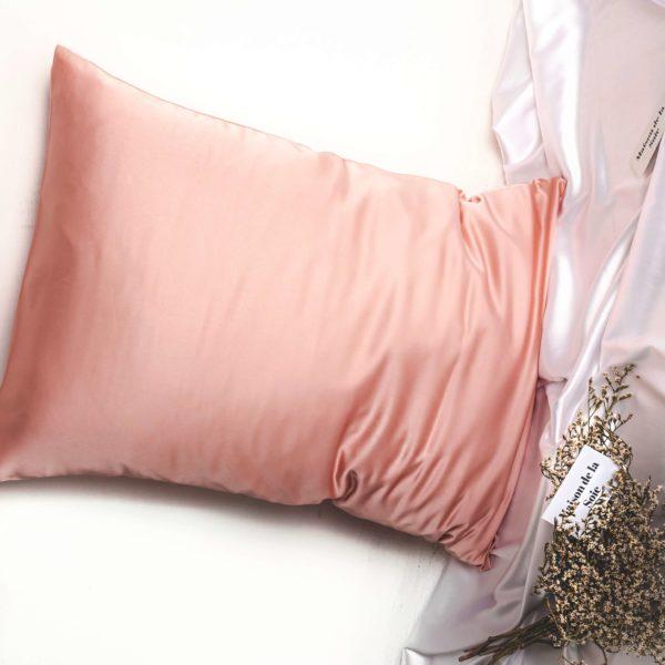 веган-калъфка-коприна-розово