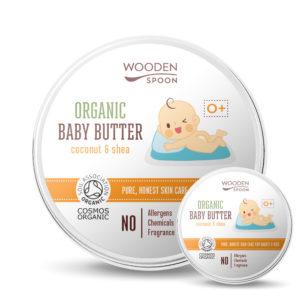 бебешко масло за тяло