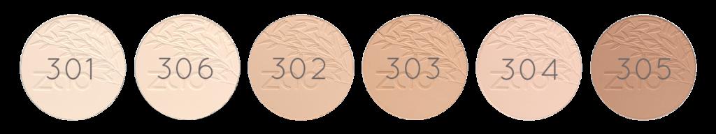 Компактна пудра ZAO Organic