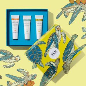 Radiance Clean трио сет от мини маски за лице - REN