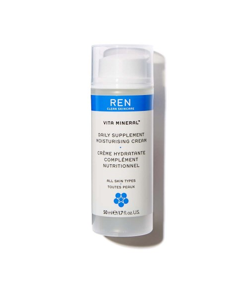 Овлажняващ ежедневен крем Vita Mineral - Ren