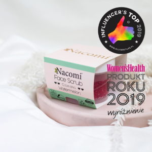 Почистващ скраб за устни и лице - Nacomi