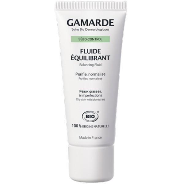 Органичен балансиращ флуид за лице - Gamarde