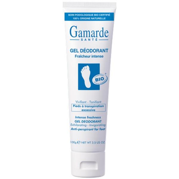 Органичен интензивен тонизиращ гел-дезодорант за крака - Gamarde