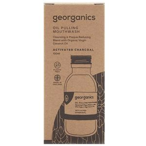 Масло за жабурене активен въглен - Georganics