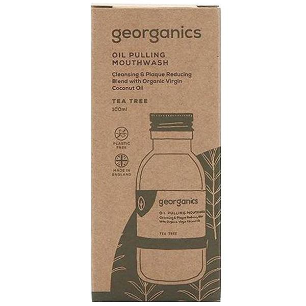 Масло за жабурене чаено дърво - Georganics