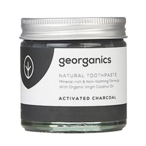 Натурална паста за зъби - активен въглен - Georganics