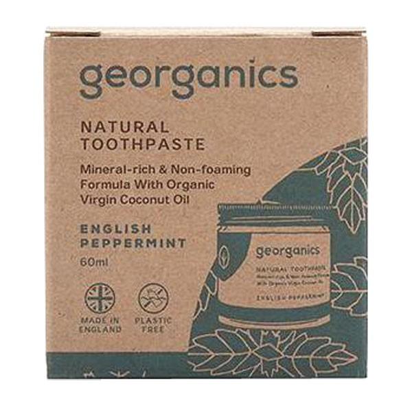 Натурална паста за зъби - лютива мента - Georganics