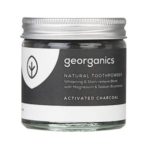 Натурална пудра за зъби - активен въглен - Georganics